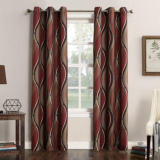 No 918 1-Panel Intersect Window Curtain