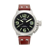 TW Steel Men's Canteen Leather Watch - CS22