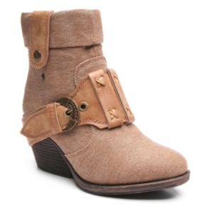 2 Lips Too Too Trixie Women's Wedge Ankle Boots