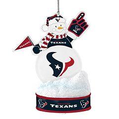 Houston Texans LED Snowman Ornament