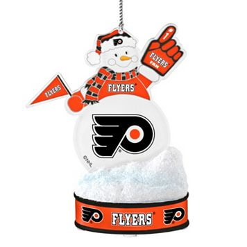 Philadelphia Flyers LED Snowman Ornament