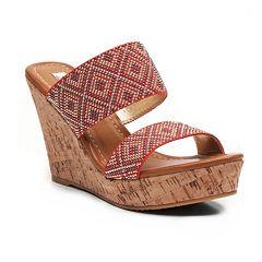 2 Lips Too Too Harlow Women's Wedge Sandals