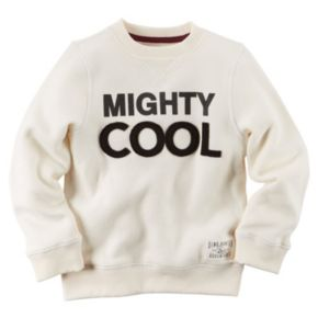 """Boys 4-8 Carter's """"Mighty Cool"""" Sweater"""