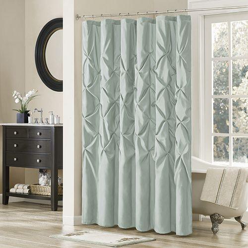 Curtains Ideas curtains madison wi : Park Tufted Faux Dupioni Shower Curtain