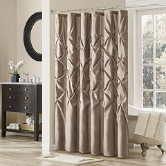Madison Park Vivian Tufted Shower Curtain