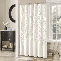 white shower curtains shower curtains & accessories - bathroom