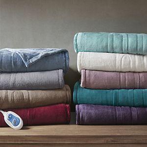Beautyrest Oversized Plush Heated Throw