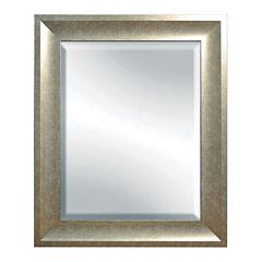 Belle Maison Gold Beveled Wall Mirror