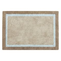 Madison Park Striped Bath Rug