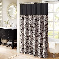Madison Park Paisley Shower Curtain