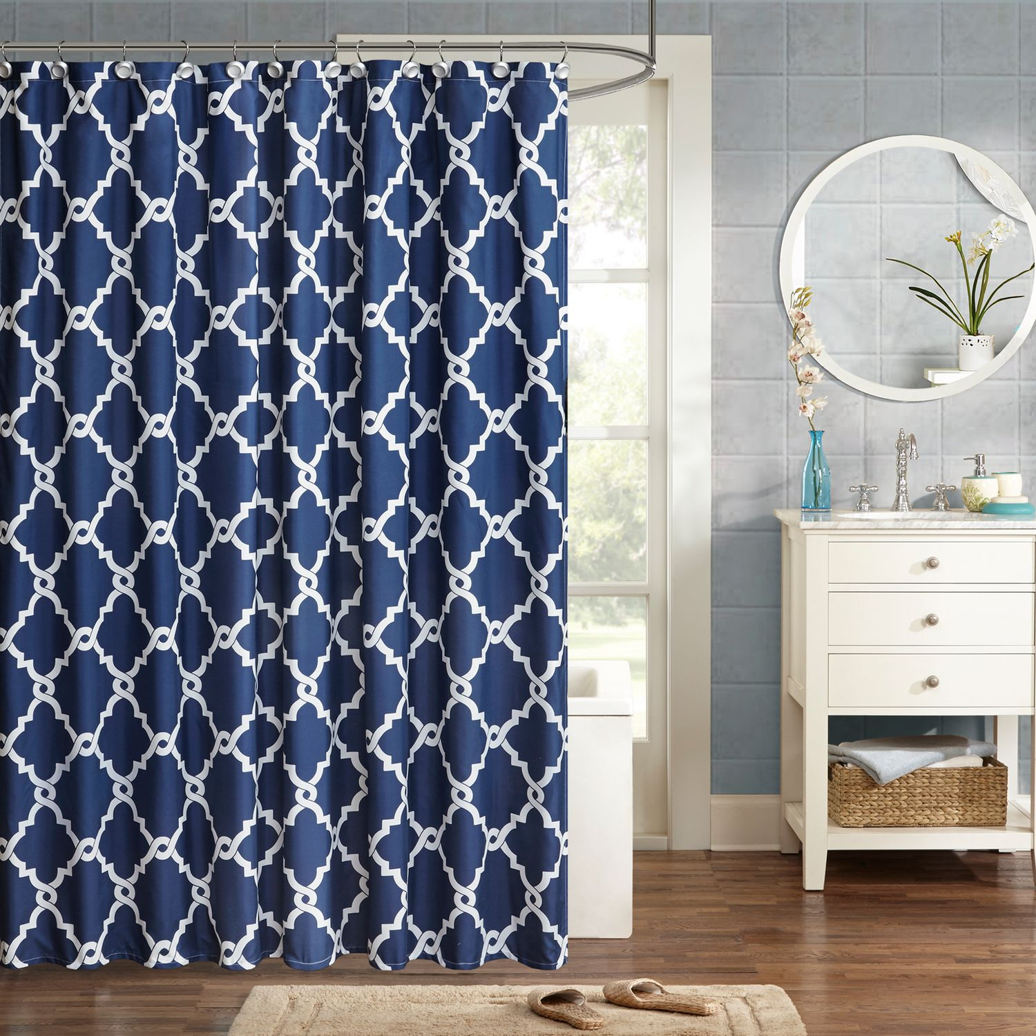 Ordinaire Madison Park Essentials Almaden Shower Curtain
