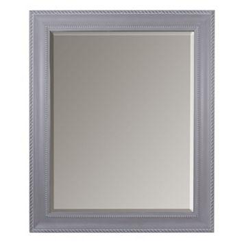 Belle Maison Gray Scroll Wall Mirror