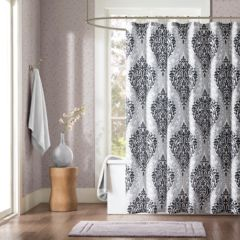 black shower curtains shower curtains & accessories - bathroom