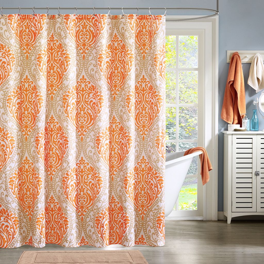 Intelligent Design Medallion Shower Curtain