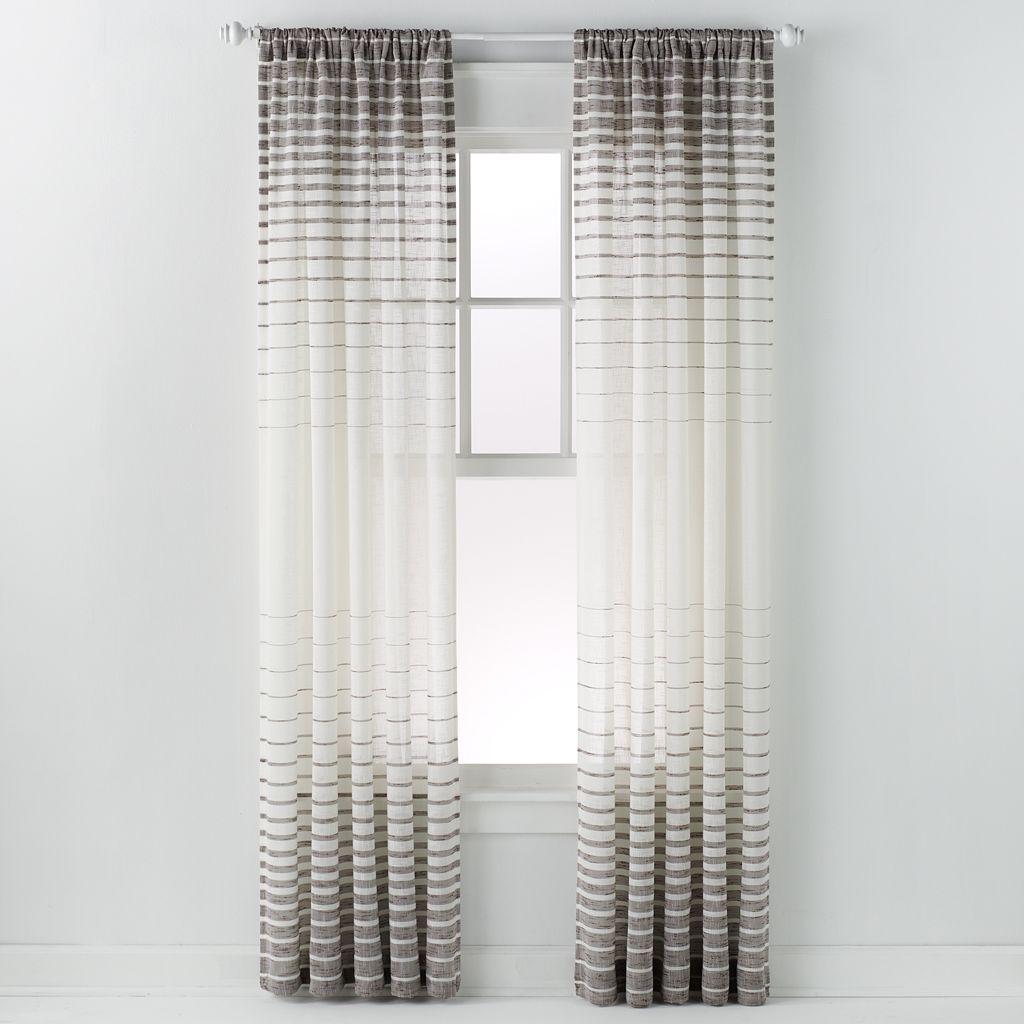 Saturday Knight Ltd. Side Step Window Curtain