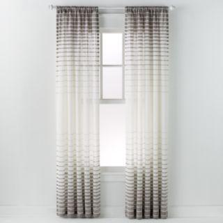 Saturday Knight Ltd. 1-Panel Side Step Window Curtain