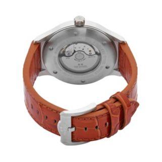 TW Steel Men's Slim Line Leather Automatic Watch - TWA1310