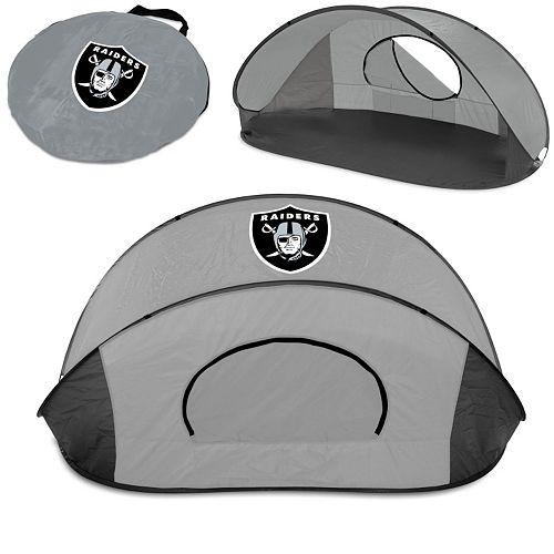 Picnic Time Oakland Raiders Manta Sun Shelter