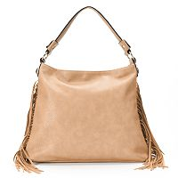 Mellow World Beatrix Slouchy Fringed Hobo