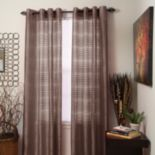 Portsmouth Home 2-pk. Maggie Striped Window Curtains