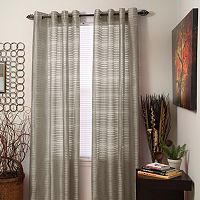 Portsmouth Home Maggie Striped Window Curtain Set
