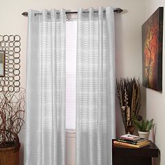 Portsmouth Home 2-pack Maggie Striped Window Curtains