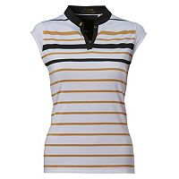 Women's Nancy Lopez Sense Sleeveless Golf Polo