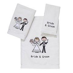 Avanti ''Bride & Groom'' Towel
