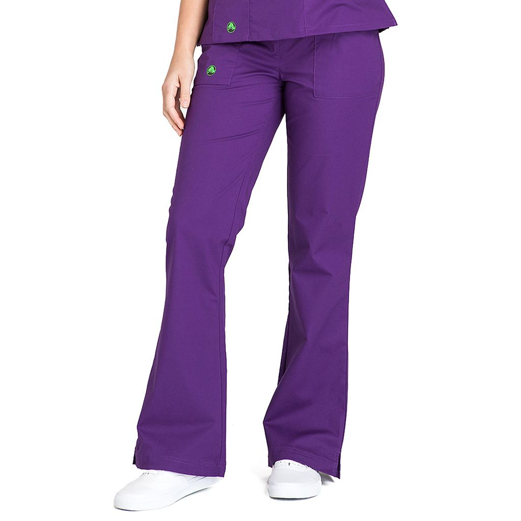 Women's Crocs Scrubs Felicia Flared Scrub Pants