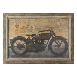 """Uttermost """"Ride"""" Framed Wall Art"""