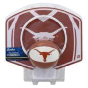 Baden Texas Longhorns Mini Basketball Hoop & Ball Set