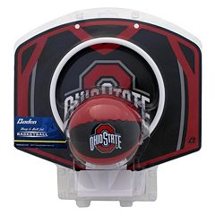 Baden Ohio State Buckeyes Mini Basketball Hoop & Ball Set