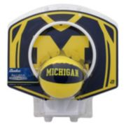Baden Michigan Wolverines Mini Basketball Hoop & Ball Set