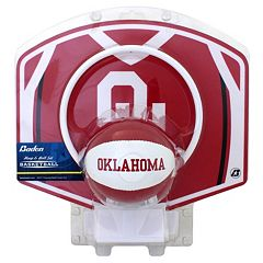 Baden Oklahoma Sooners Mini Basketball Hoop & Ball Set