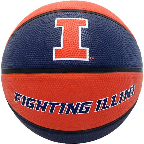 Baden Illinois Fighting Illini Official Deluxe Basketball