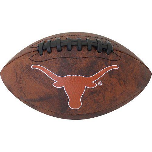 Baden Texas Longhorns Vintage Mini Football