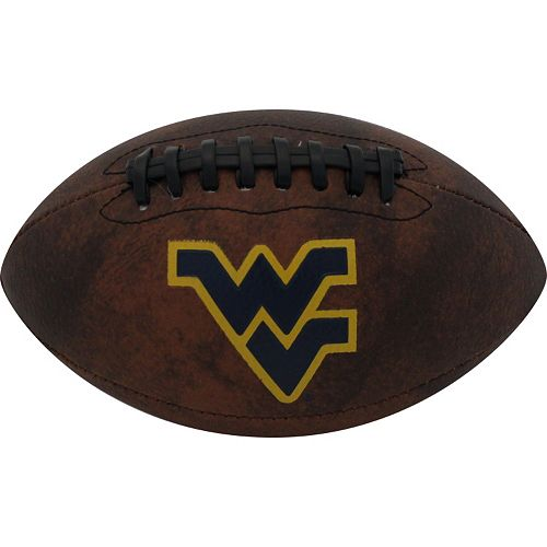 Baden West Virginia Mountaineers Mini Vintage Football