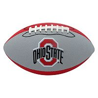 Baden Ohio State Buckeyes Junior Size Grip Tech Football
