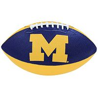 Baden Michigan Wolverines Junior Size Grip Tech Football