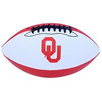 Baden Oklahoma Sooners Junior Size Grip Tech Football