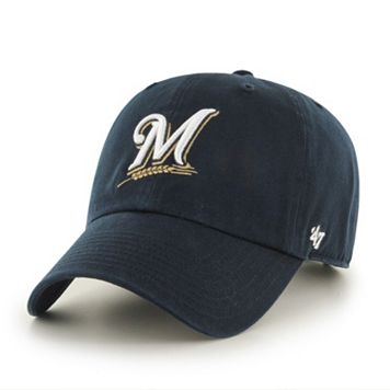 Adult Milwaukee Brewers Garment Washed Baseball Cap