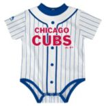 Baby Majestic Chicago Cubs Home Jersey Bodysuit