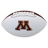Baden Minnesota Golden Gophers Official Autograph Football