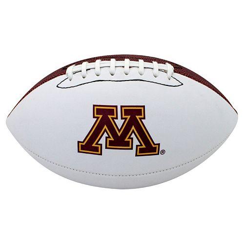 Baden Minnesota Golden Gophers Official Autograph Football