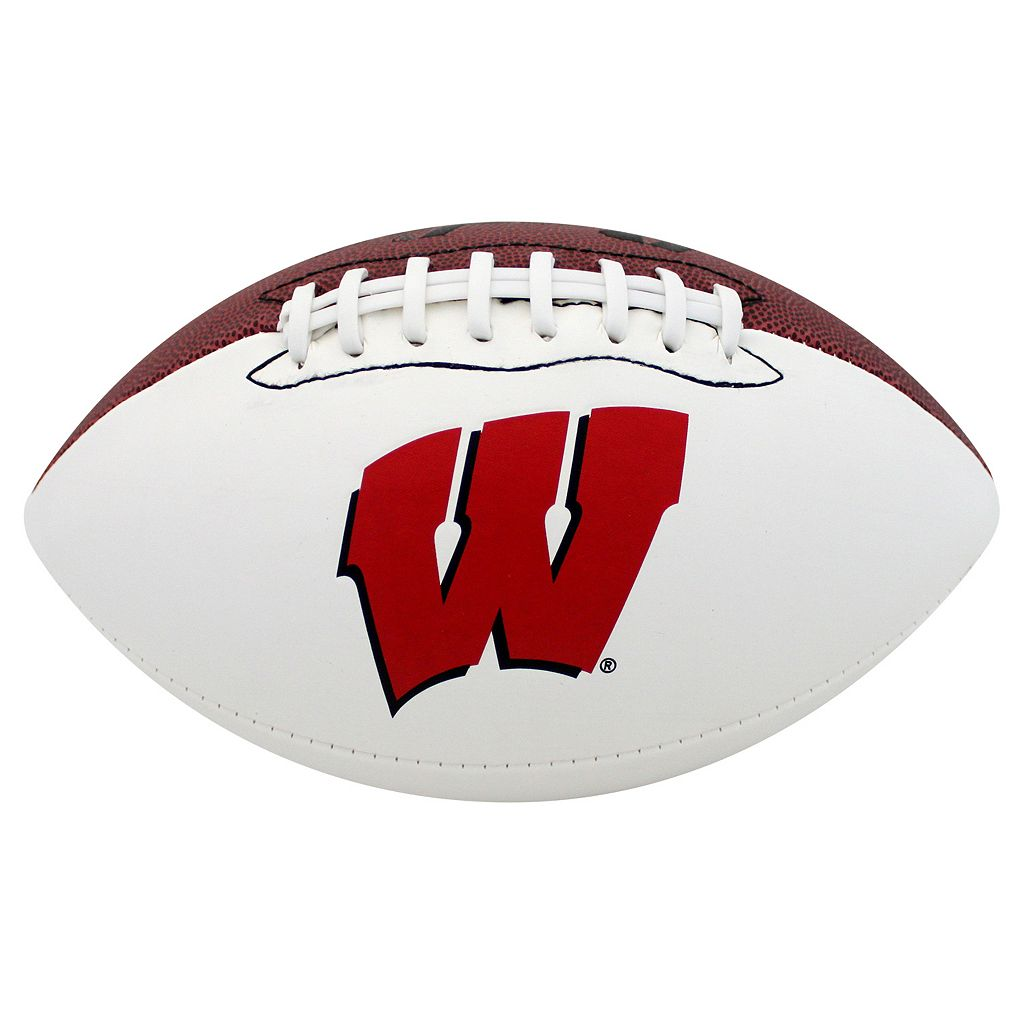 Baden Wisconsin Badgers Official Autograph Football