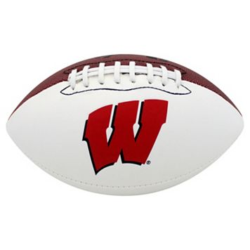 Baden Wisconsin Badgers Official Autograph Football
