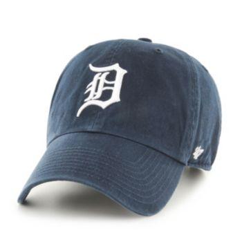 Adult Detroit Tigers Garment Washed Baseball Cap