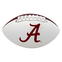 Baden Alabama Crimson Tide Official Autograph Football