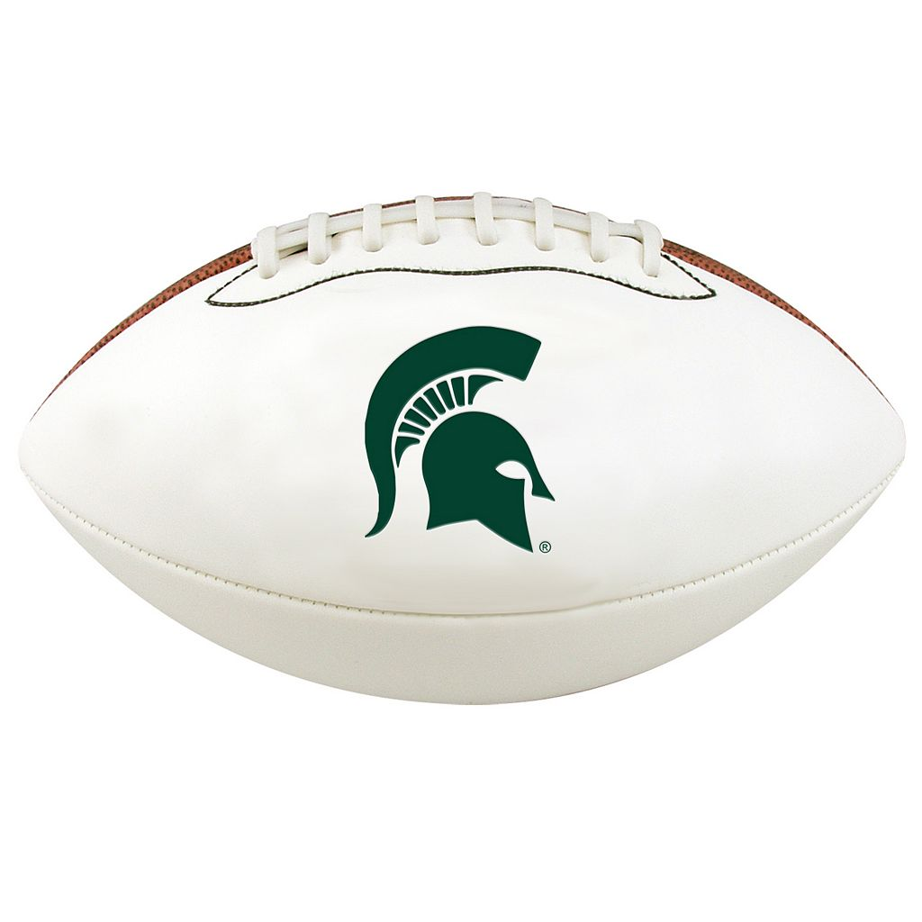 Baden Michigan State Spartans Official Autograph Football