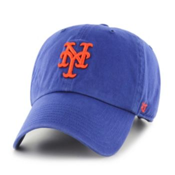 New York Mets Garment Washed Baseball Cap